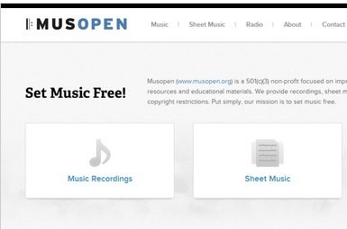 Website which shares license-free music. Click for more info