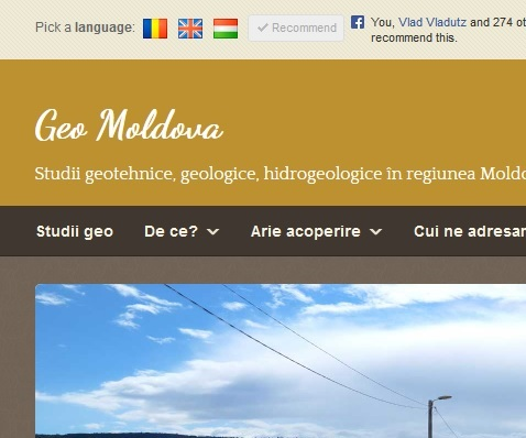 Website which promotes a geologic bussiness from Romania. Click for more info
